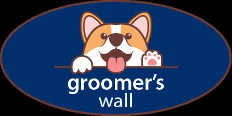 Groomer's Wall Logo