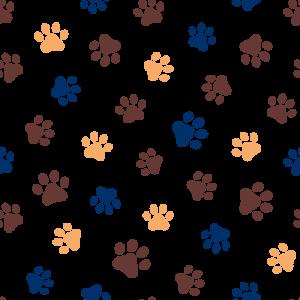 Paw-print Background